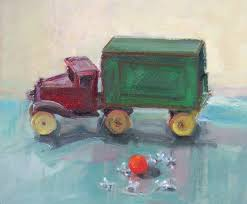 100 Paint My Truck Art Every Day Toms Toy Still Life Oil On Linen11x14price400