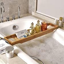 einfacher bambus badewanne ständer anti rutsch badezimmer