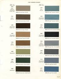 Ford Falcon Paint Codes Representation 1964 Interior Color Muscle Forums Pictures With