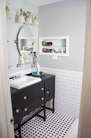 bathroom redo grey grout grout and subway tiles