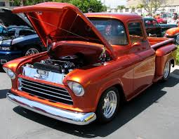An Awesome Classic Chevy! Hot Rod Custom '55 Chevy Pickup … | Flickr