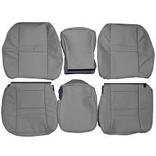 100 Dodge Truck Seat Covers 20062009 Ram 2500 Custom Real Leather Front