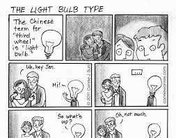 connie to the wonnie the light bulb type