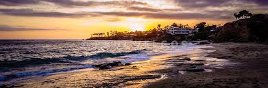 Laguna Beach California Sunset Panorama Photo