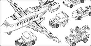 Lego City Coloring Pages To Print