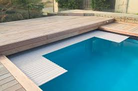Diy Installation Electric Swimming Pool Cover With Pc Slats