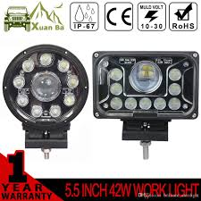 Xuanba 5 Inch 42w Round Square Led Work Light For Atv Suv Truck ... Truck Lite Led Work Light 4 81520 Trucklite Pair 27w Epistar Square Offroad Flood Lamp Boat Jiawen Car Styling 30w Dc12 24v For Safego 2pcs Work Lights 12v 24v 27w Led Lamps Car Trucks Adds White Auxiliary To Signalstat Lineup X 6 High Powered Beam 1200 Lumens Riorand Water Proof 2 60 Degree Luxurius Lights For Trucks F21 In Stunning Selection With Inch Pod Cree 60w Tri Row Bar Combo 2x 18w Pods Spot Atv Jeep Ute Great 64 On Definition 12 Inch 72w Vehicle