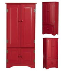 Image Is Loading Wood Storage Cabinet Tall Kitchen Dining Room Cupboard