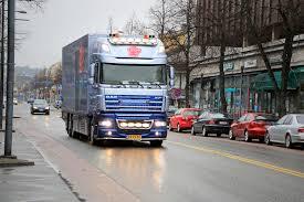 Download Dutch DAF XF105 Flower Truck In Finland Editorial Image