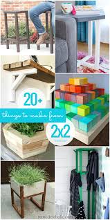 20 Things To Make And Build Using 2x2 Wood Boards Remodelaholic