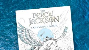 Behind The Book Percy Jackson Coloring Illustrated By Keith Robinson