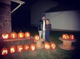 Halloween Express Milwaukee Pumpkin by Pumpkins Become U0027carats U0027 After Halloween Marriage Proposal