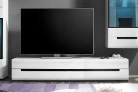 hektor tv lowboard weiß hochglanz helvetia möbel letz