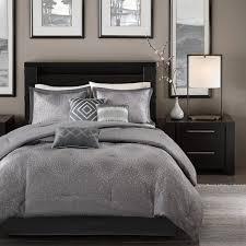 amazon com madison park mp10 922 quinn 7 piece comforter set