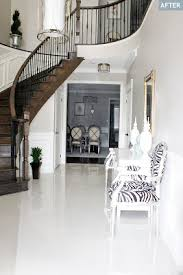 large porcelain tiles in city apartment with a polished finish