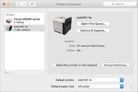 adding a network printer on a mac information technology systems