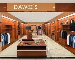 GR42 Luxury Mens Clothes Store Display Ideas