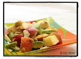 salade de pommes et d avocat vedge recettes végétariennes