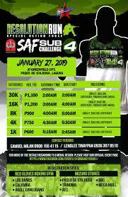 100 Resolution 4 Run SAF Sub Challenge 2019 At Greenfield City
