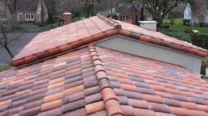 decoration in tile roof installation residence clay tile