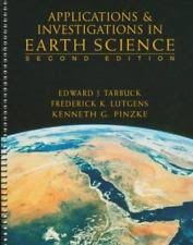 Applications And Investigations In Earth Science ExLibrary