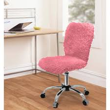 Pink Chairs For Bedrooms Fresh Urban Shop Faux Fur Feather Task Chair Adjustable Sturdy