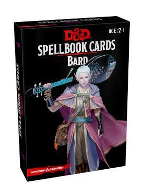 D and D Spellbook Cards Bard - Wizards Rpg
