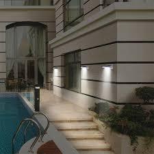 200lm ip65 led solar sensor light for outdoor garden wall