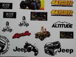 100 Monster Truck Decals 110 JEEP Rock Crawling DECALS STICKERS Sheet