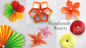 Paper Flower Making In Simple Steps