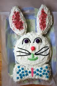 Easter Bunny cake Grandma Molasses