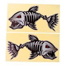 1 Pair Fish Skeleton Decals Car Sticker Fishing Boat Canoe Kayak ... Car Stylings Hunting Fishing Stickers 1514cm And Amazoncom Bass Fishing Spinner Bait Window Vinyl Decal Sticker Large Under Armour Fish Hook Vinyl Decal Sticker For Zebco Sheet 9 Crashdaddy Racing Decals Awesome Trucks Northstarpilatescom Philippines Web Cam Funny Bumper Stickersand 2018 25414cm Reflective Skull Skeleton Keeping It Reel Vehicles Laptop And Best Truck Resource Bass Silhouette At Getdrawingscom Free Personal Use Respect The Freak Fishing Decal North 49