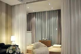 Room Divider Curtain Ikea by Hanging Fabric Room Divider Terrific Dividers Ikea White Wall Lamp