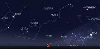 04 25 11 Ephemeris The Constellation Of Corvus Crow