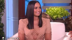 Ellen Degeneres Amy Halloween Horror Nights by Demi Lovato Reveals Talk Of An R Rated U0027camp Rock 3 U0027 On U0027ellen