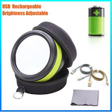 dh 86016 wall mounted lighted magnifying glass reading loupe with