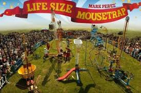 COURTESY SAN MATEO COUNTY FAIRThe Life Size Mousetrap Which Tours The Country Will Make
