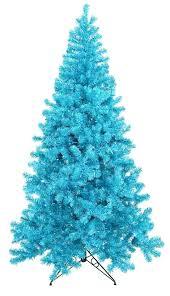 Vickerman Trees Sky Blue Lit Tree Alpine Flocked Alaskan Christmas