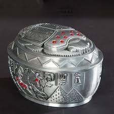 ägypten hause dekoration zubehör wohnzimmer ornamente käfer aschenbecher kleine metall box elimelim