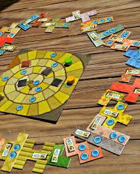 Patchwork Board Game Set Up