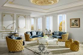 couchgarnitur set gold blau lionsstar gmbh