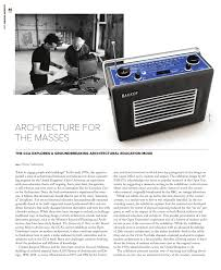 100 Cca Architects PDF Architecture For The Masses The CCAs The University