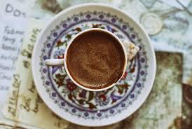 How To Drink Turkish Coffee Served In A Demitasse With Plenty Of Foam On Top