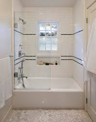 classic 1930 s tile work for shower traditional bathroom