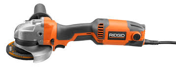Ridgid Tile Saw R4020 by Angle Grinder Electric R1005 Ridge Tool