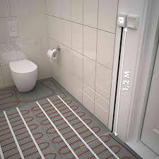 elektroheizung 150w m 3 7m wärmematte unterbodenheizung zum verlegen