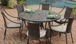 Semi Circle Patio Furniture by Circular Patio Table U0026 Cover Up 6 8 Seater Circular Patio Set