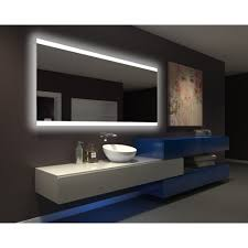Small Rectangular Bathroom Trash Can by This Is Why We Should Have Backlit Bathroom Mirror Decorative