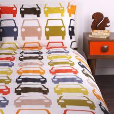 Orla Kiely Cars duvet set for the boys room I ve d & gone to