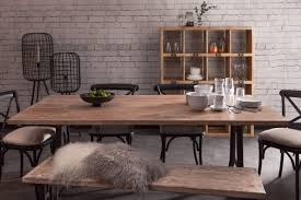 Bold Idea Industrial Style Furniture Toby Dining Table Chic